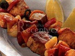 Kuřecí zeleninový špíz