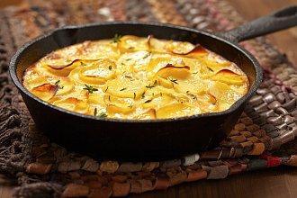 Recept na zapečené brambory – postup přípravy, suroviny a více variant receptu