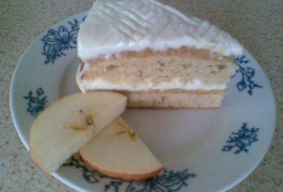Jablečný dort s vaječným likérem photo-0