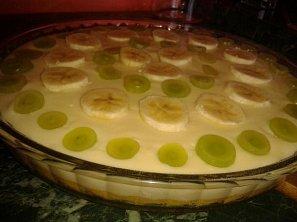Pudingovo-ovocný koláč