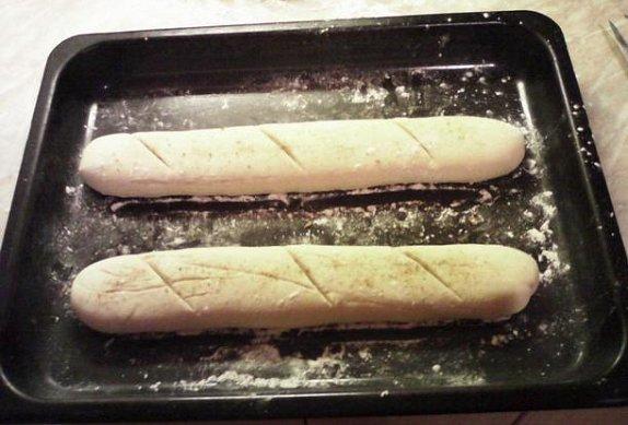 Francouzská bageta - hrníčkový recept