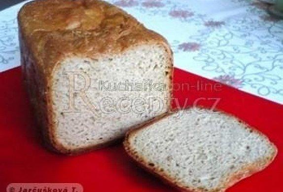 Chléb s kečupem