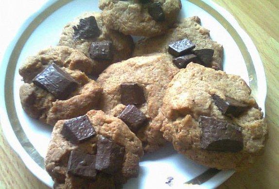 Špaldové sušenky s čokoládou photo-0