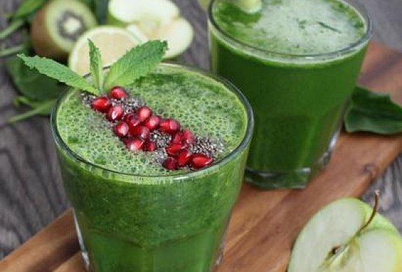 Zeleninové smoothie s jablkem