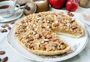 Jablkový koláč s drobenkou