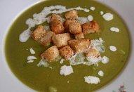 Hrášková polévka - smetanová