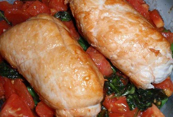 Bazalkové roládky (nejen) s fazolkami a mozzarellou