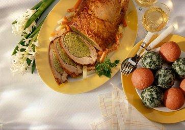Velikonoční nádivka: Špenátová, brokolicová i s kopřivou