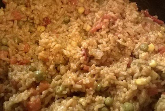 Pikantní bezmasé rizoto se sýrem