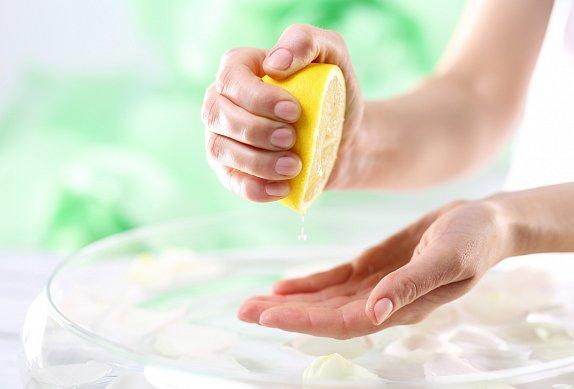 Citronový chlebíček s borůvkami