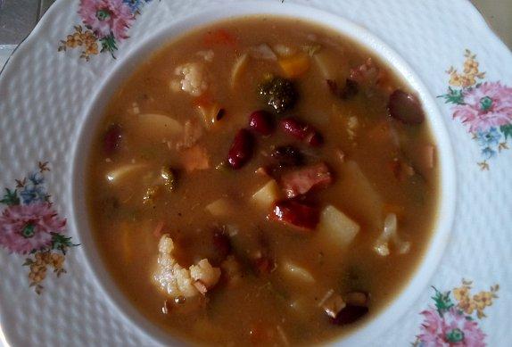 Chalupářská hrstková polévka photo-0