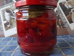 Zavařená červená paprika
