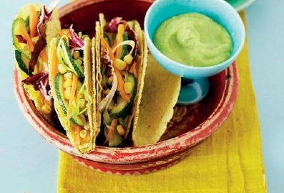Kukuřičné tacos s grilovanou cuketou photo-0