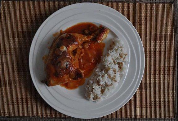 Pečené kuře podle macechy