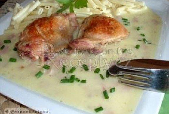 Kuře se šlehačkou
