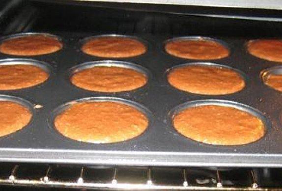 Kakaovo-kokosové muffiny