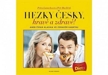 Pozvánka na křest knihy Hezky česky, hravě a zdravě! aneb Česká klasika ve zdravém kabátku