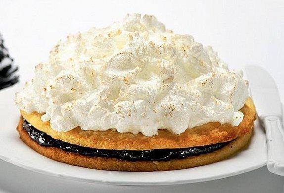 Černobílý vánoční dort photo-0