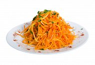 Šťavnatý mrkvový salát
