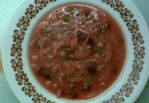 Hustá zeleninová polévka s cizrnou