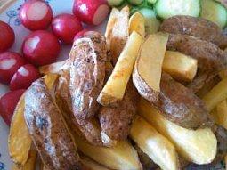 Jednoduché pečené brambory