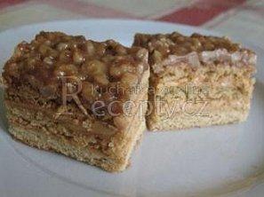 Ořechové řezy s medovou krustou