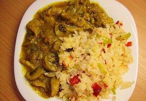 Barevná rýže I.