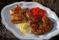 Kořeněné kuřecí steaky