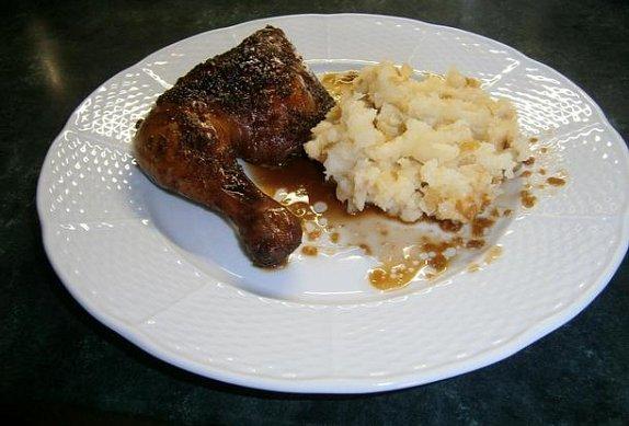 Marinované kuře v medu a sojové omáčce
