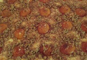 Tvarohový koláč s ovocem III.