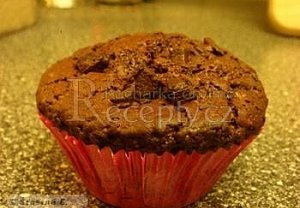 Čokoládové muffiny k nakousnutí