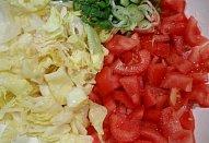 Jednoduchý (nejen) rajský salát