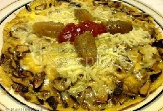 Houbová omeleta photo-0