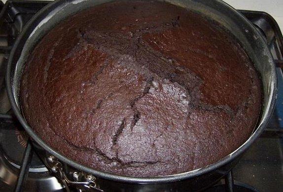 Kakaovo-kávový moučník