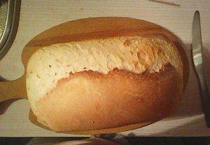 Domácí chléb z pekárny