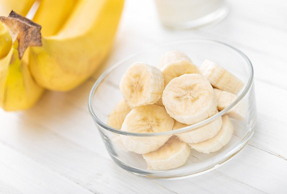 Chia pudink s banánem