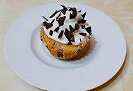 Vanilkový dortík - cupcake