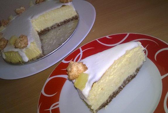 Cheesecake a la Piňa Colada