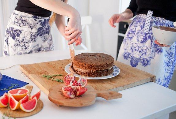 Piškotový korpus na dort