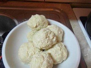 Tofu sladké knedlíky
