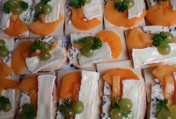 Chlebíčky nejen se sýry