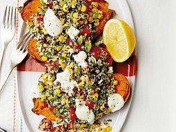 Pečené batáty s quinoou