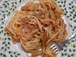 Špagety all'Amatriciana