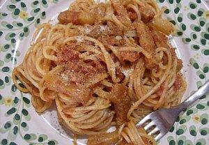 Špagety all'Amatriciana