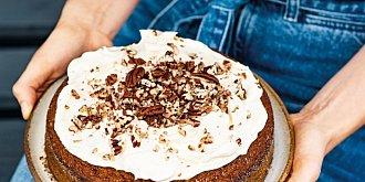 Dýňový koláč s krémem ze smetanového sýra