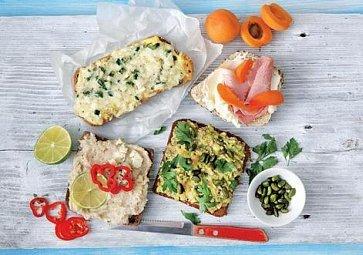 Obložené chleby - vyzkoušejte nové kombinace!