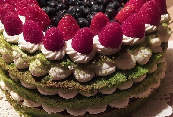 Mechový dort s mascarpone