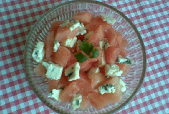 Melounový salát s nivou photo-0