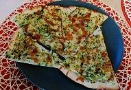 Pizza s cuketou