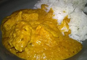 Indické kuře Tikka Masala